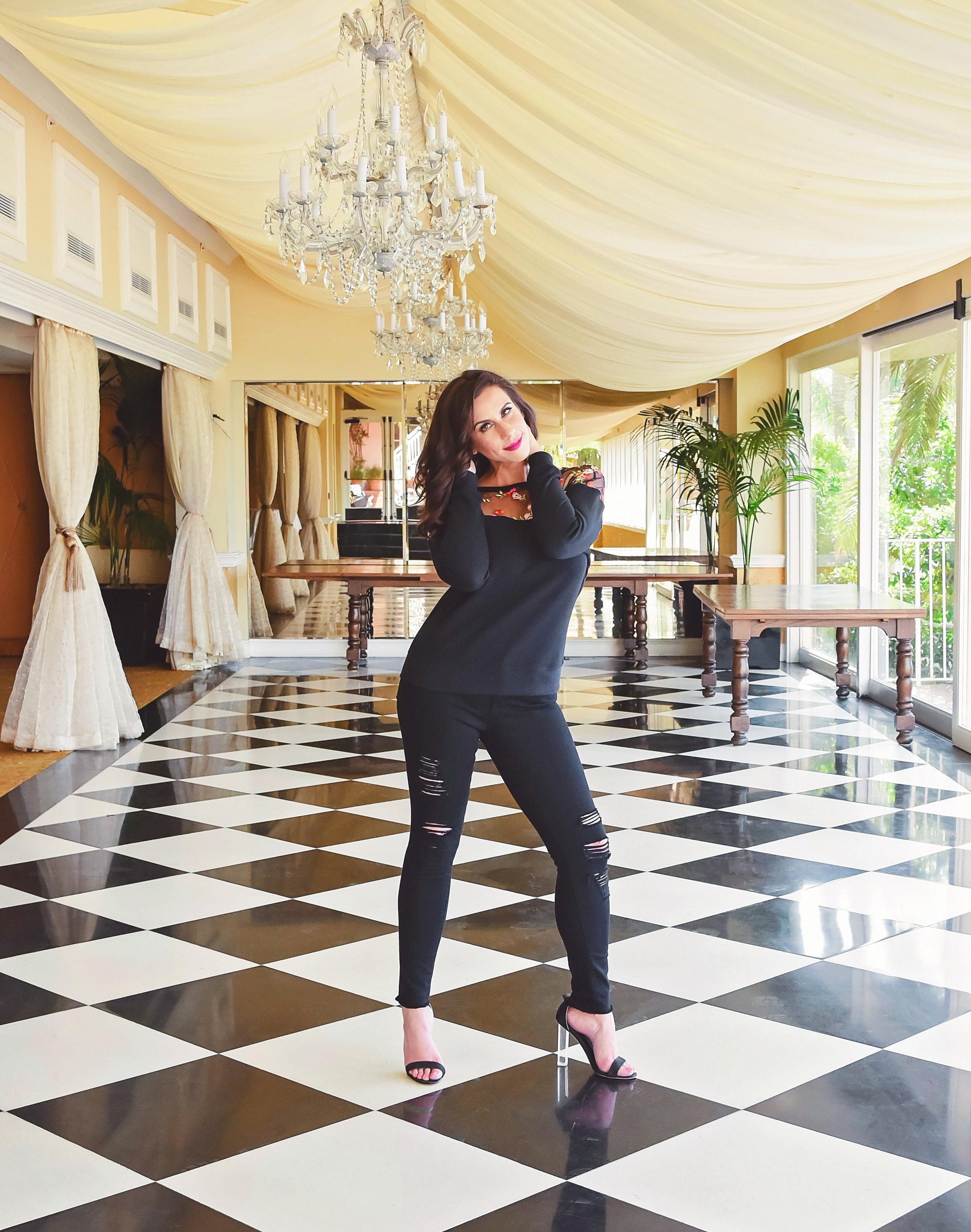 Fashion Black Heels | Fashion Photography | Lacey O