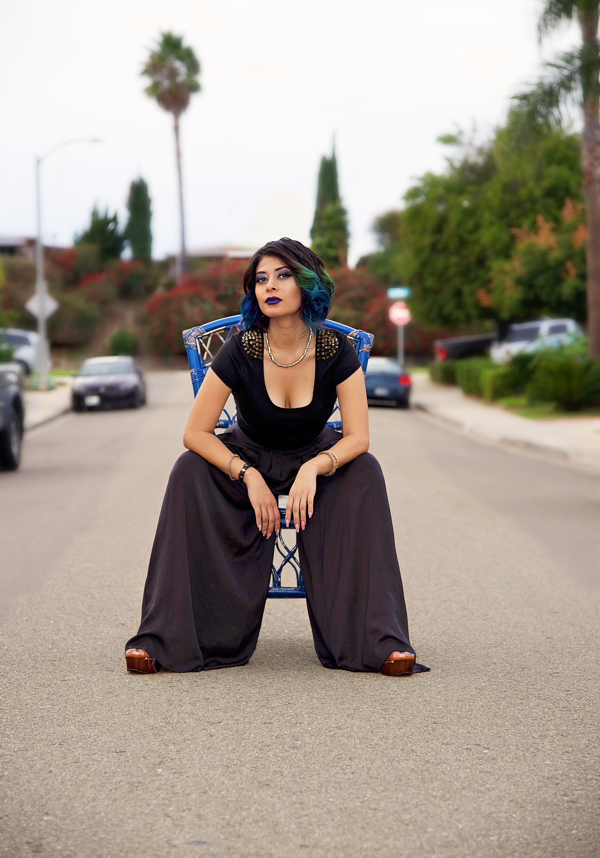 Fashion Model Pants Shirt | Fashion Photography | Lacey O