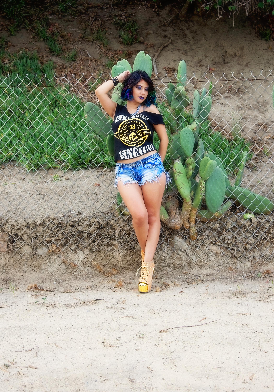 Fashion Lynyrd Skynyrd Shirt Yellow Shoes | Fashion Photography | Lacey O | Washington DC