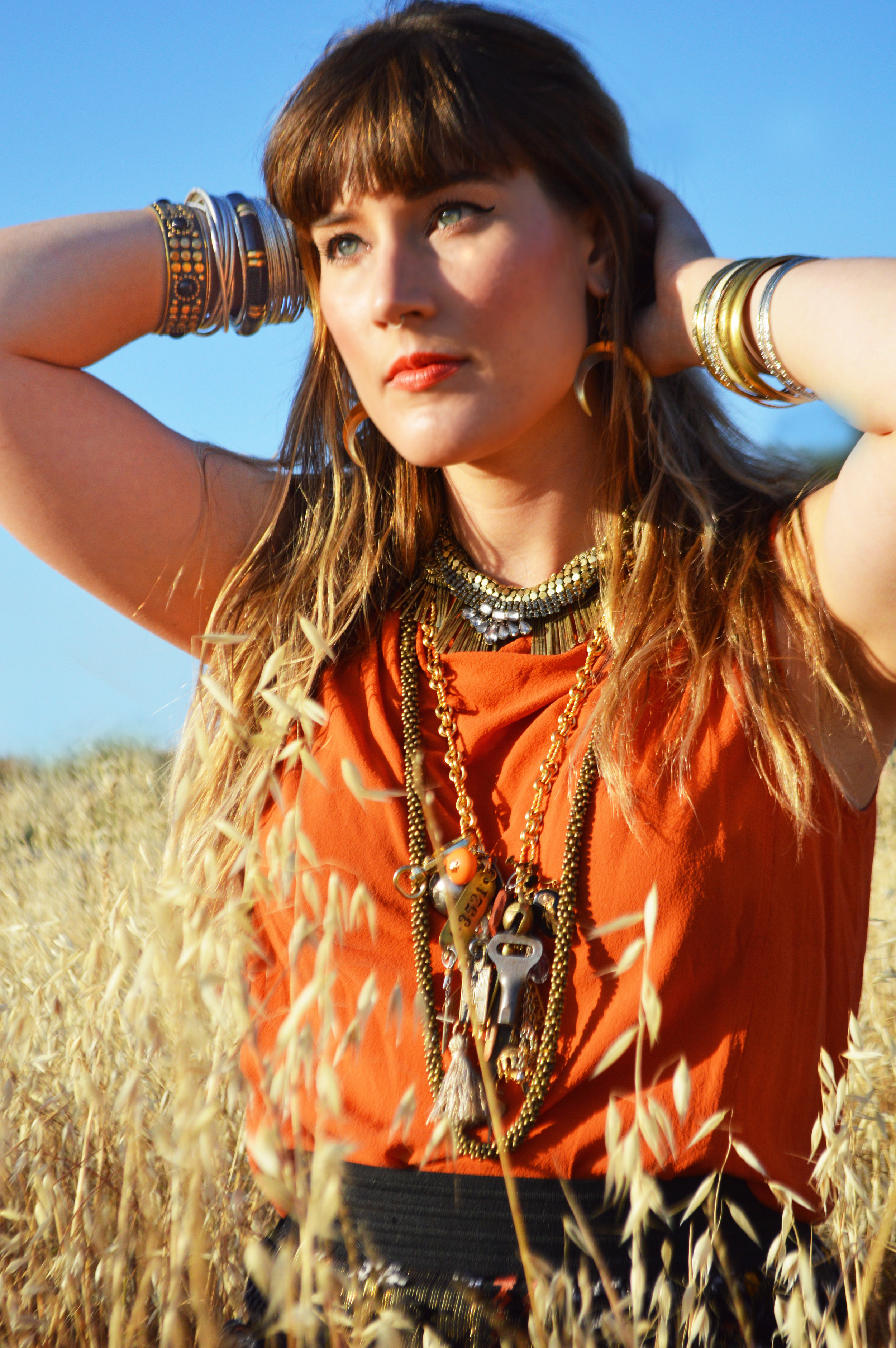Fashion Model Bracelets Jewelry | Fashion Photography | Lacey O