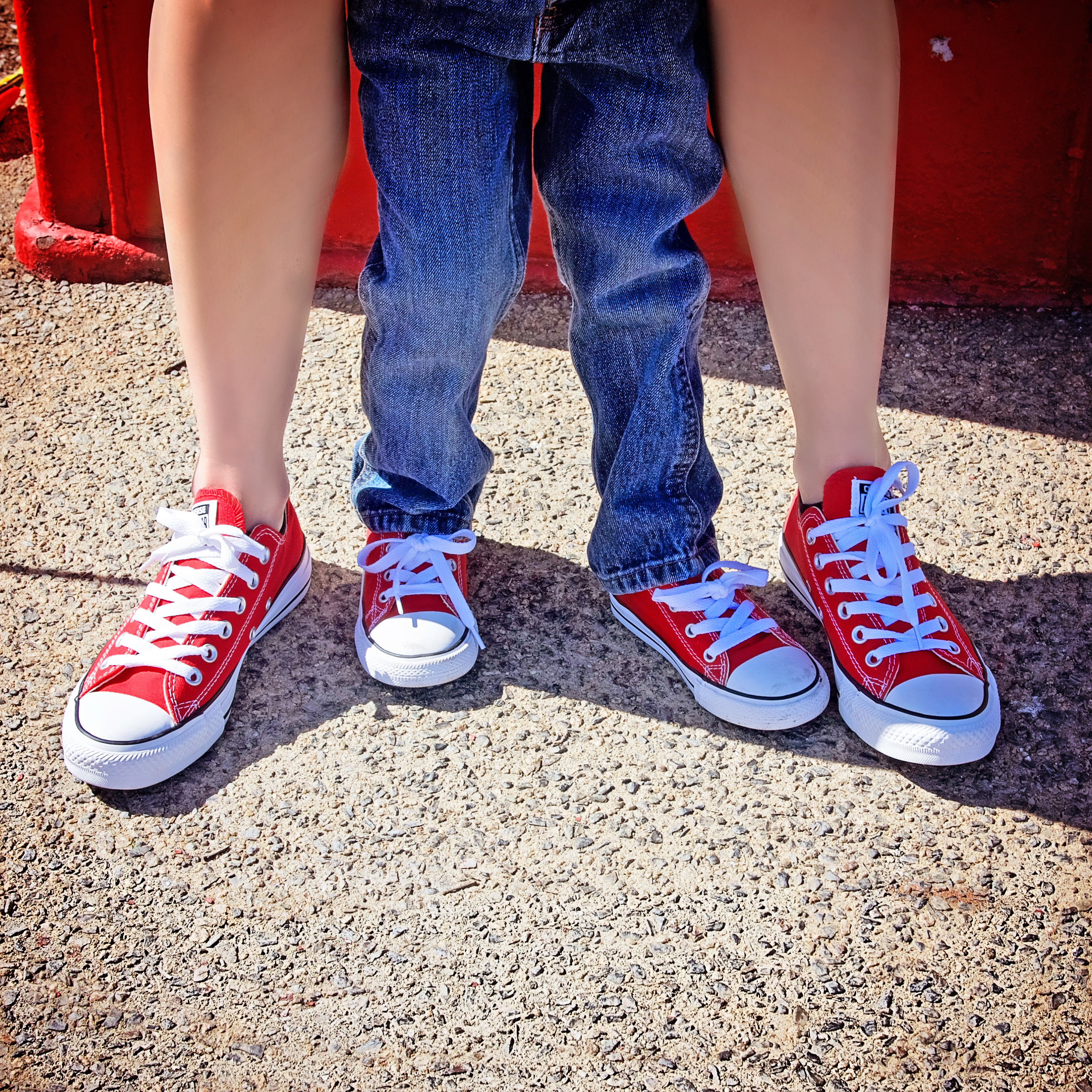Mother Son Portraits Red Shoes | Lifestyle Portrait Photography | Lacey O