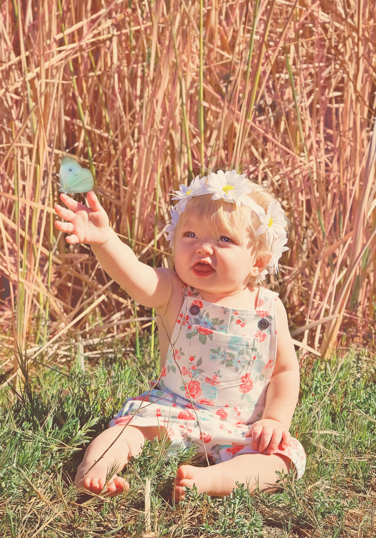 Baby Portrait Florals | Lifestyle Portrait Photography | Lacey O