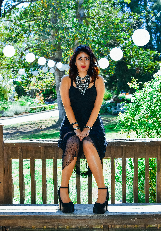 Fashion Necklace Black Dress | Fashion Photography | Lacey O