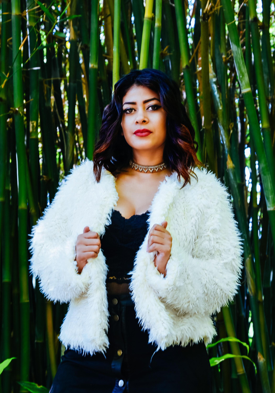 Fashion White Fur Coat Jewelry | Fashion Photography | Lacey O | Washington DC