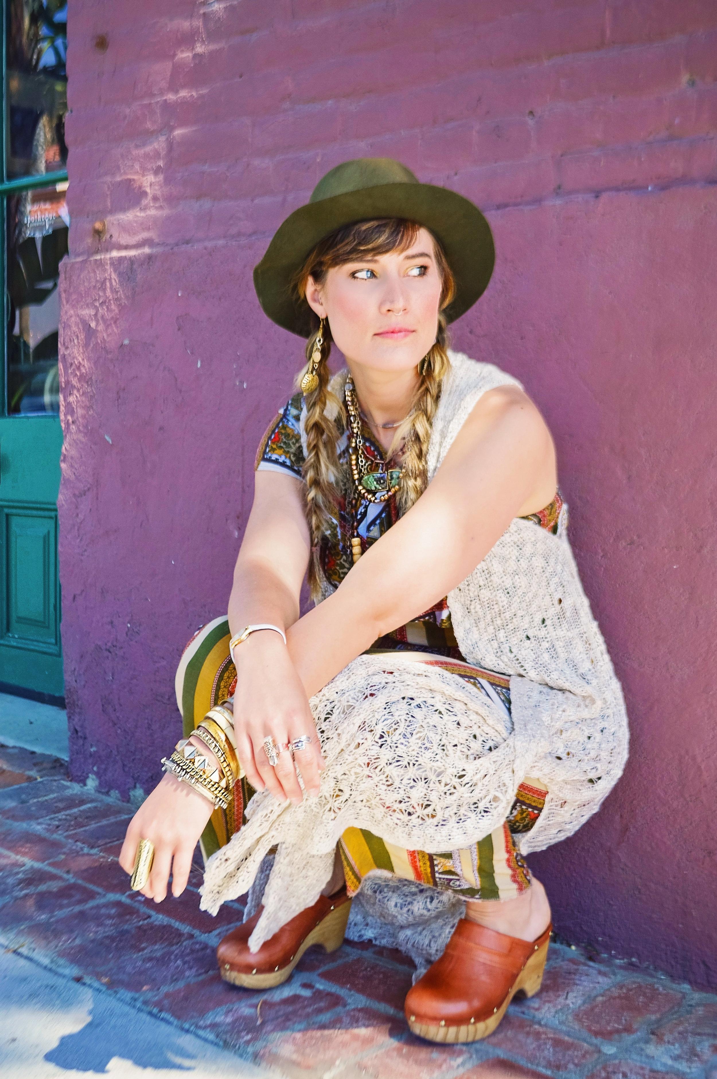 Fashion Model Hat Jewelry | Fashion Photography | Lacey O