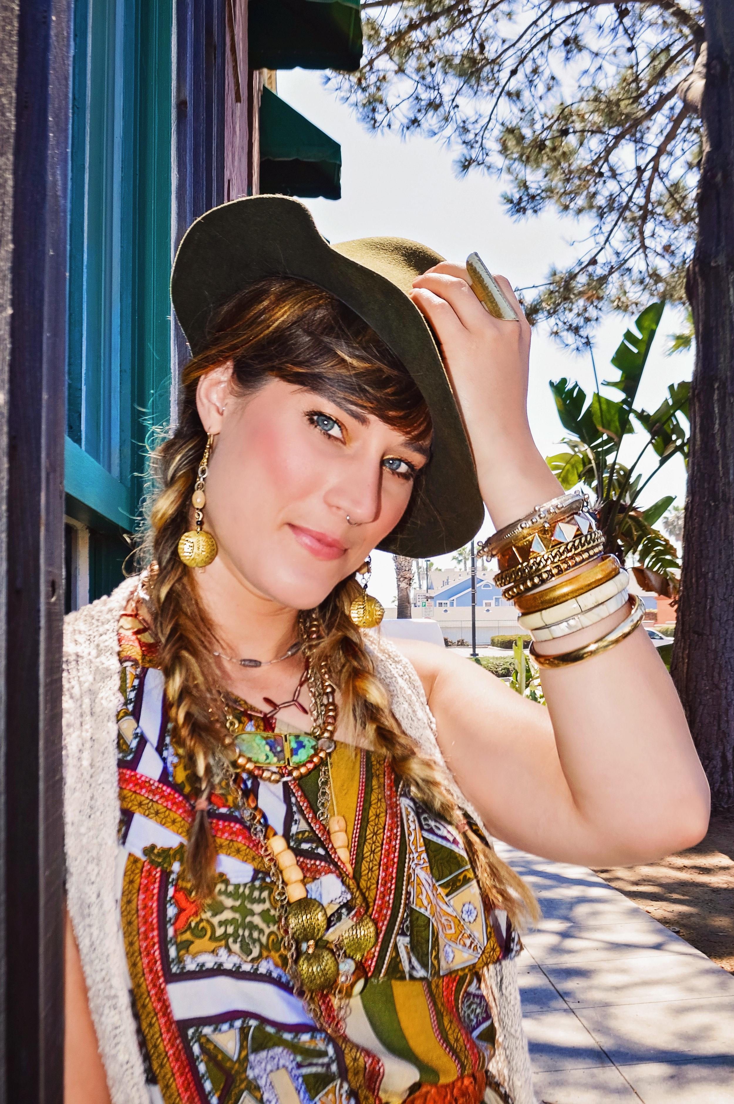 Fashion Models Jewelry Hat | Fashion Photography | Lacey O | Washington DC