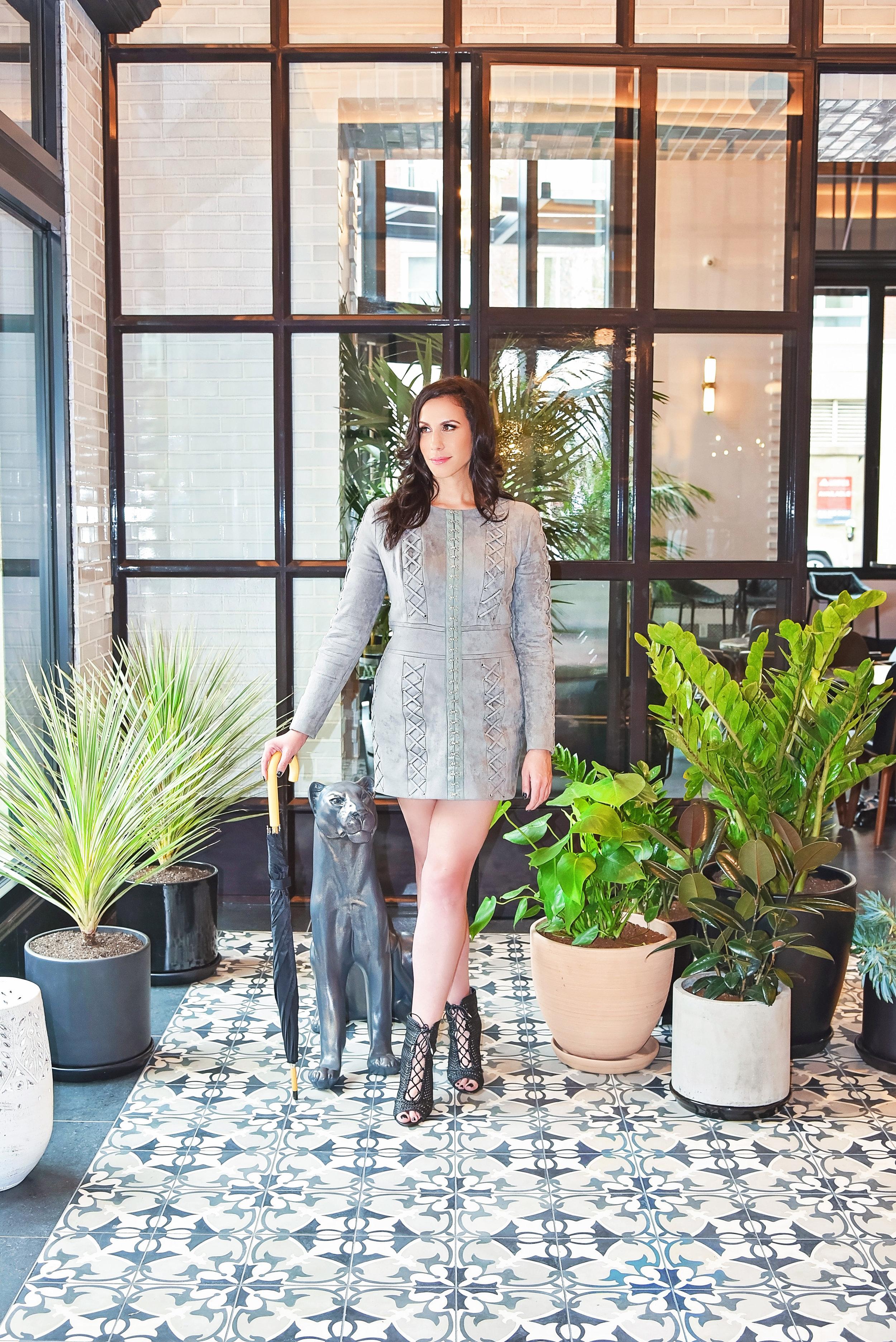 Fashion Gray Dress Shoes | Fashion Photography | Lacey O | Washington DC