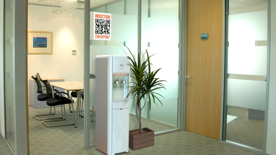 qr code office induction day