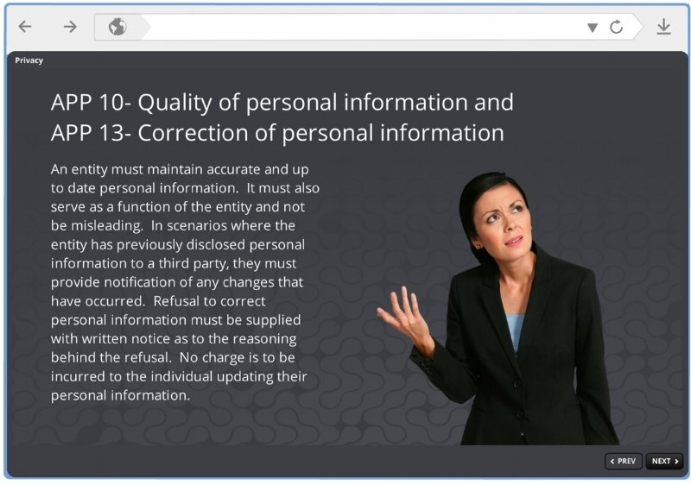 personal information good bad ugly elearning