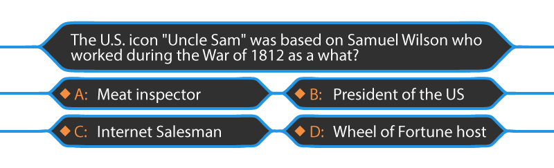 uncle sam bad multiple choice question elearning
