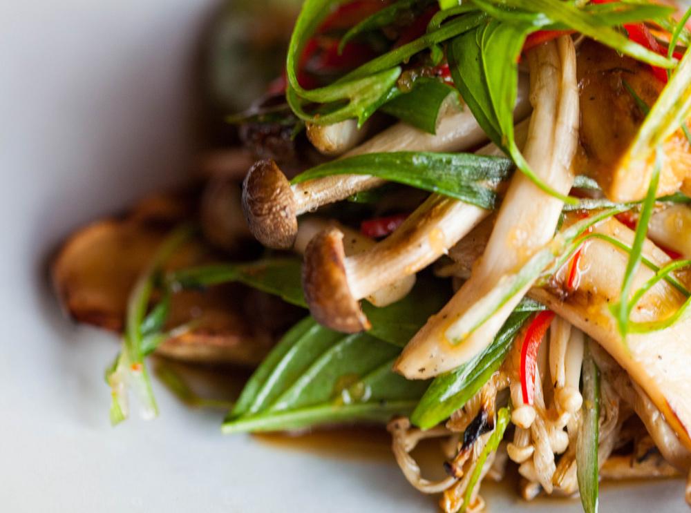 Wood Grilled Mushrooms