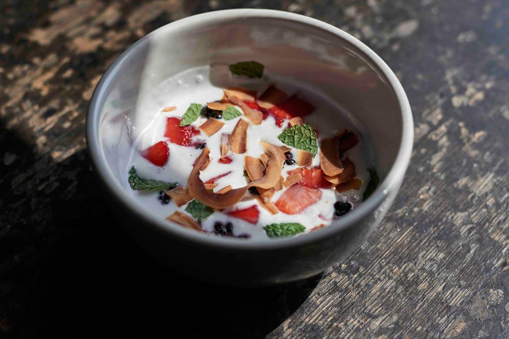Young Coconut Yogurt