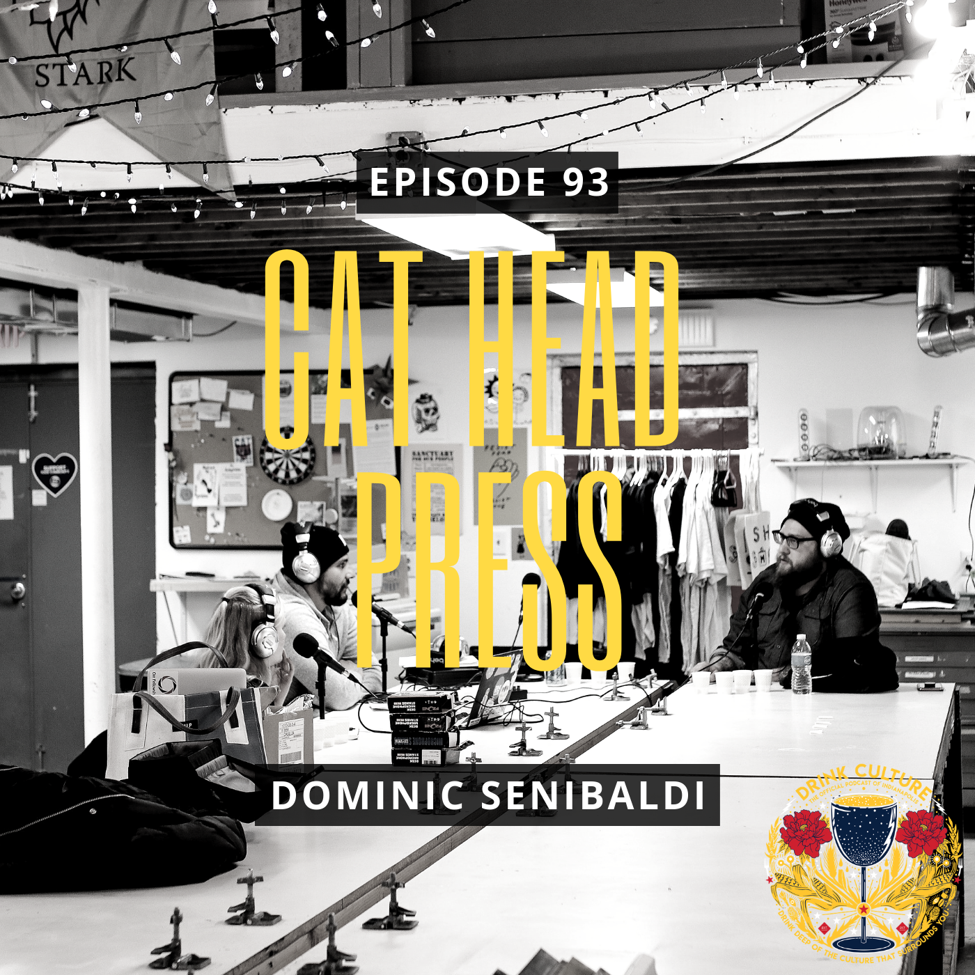 Episode 93: Cat Head Press, Dominic Senibaldi -