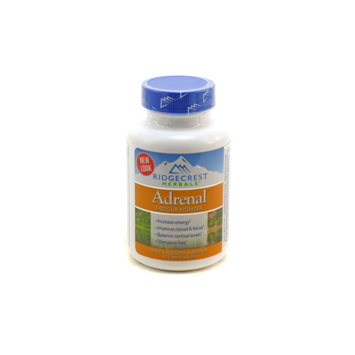 Adrenal Pills - Stress and lack of sleep, especially when traveling, can lead to weakened Adrenal glands. Strengthen and support your Adrenals with Ridgecrest Herbals Adrenal Fatigue Fighter. Bring this formula on your trip to restore and maintain energy levels while promoting mental clarity.