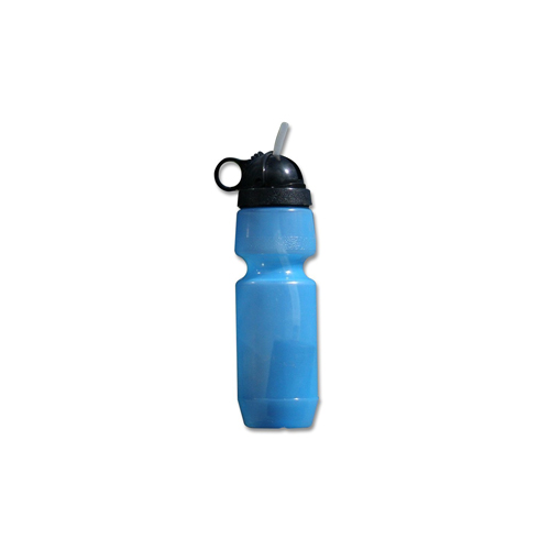 Berkey Water Filter Sport Bottle - Fill water from anywhere with the 22 oz Berkey Water Filter Sport Bottle. It's safe, BPA Free, and the built-in filter removes toxic chemicals, making it the ideal water bottle for travel.