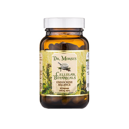 Endocrine Balance - This formula covers a wide variety of issues related to hormones as it balances the thyroid, adrenals, and pituitary glands. Women especially benefit from Dr. Morse's formula as it improves their cycle, mood, sleep, and energy.