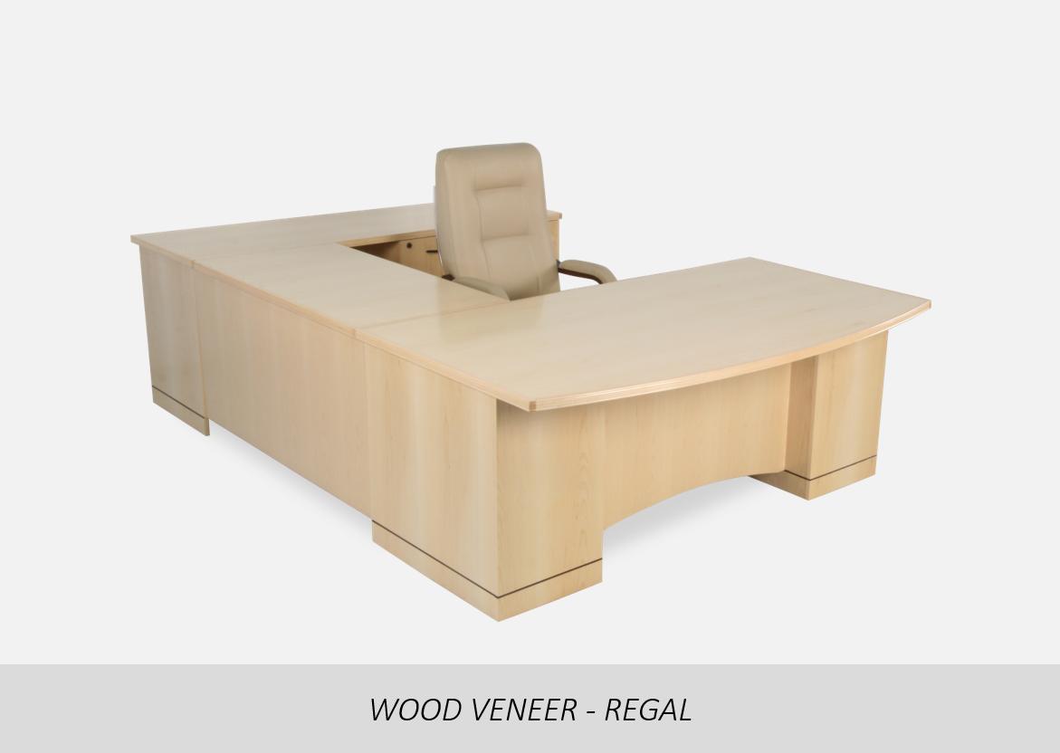 Wood Veneer - Utopia    U-Shape Configuration | Straight Front Arc Modesty | Floor Reveal Pedestal Option