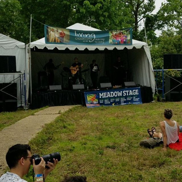 Stoked to be back at Kingman Island Bluegrass Festival. All proceeds go to an amazing organization called Living Classrooms that does incredible work in their community including outdoor education. Come see us on your way to the Meadow Stage! #kingmanisland #kingmanislandbluegrassfestival  #trailsandalesdc