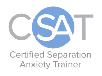 CSAT Certified Separation Anxiety Trainer for dogs