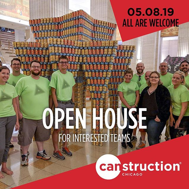 Kicking off our 2019 season with our annual Open House. If you've been joining us for years or want to learn more about how to get involved as a first-timer, join us at @pellacraftedlux in #themart on May 8 at 5:30PM. All are welcome! #fighthunger #endhunger #endhungernow @fooddepository @aiachicago