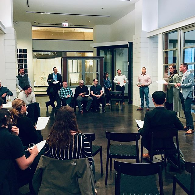 A huge thank you to all of the interested parties that joined us for our open house to learn more about our fight to end hunger with @fooddepository. The 2019 season is officially here. Team registration is open until May 24th. Link in bio. Thank you @pellawindows for hosting us.