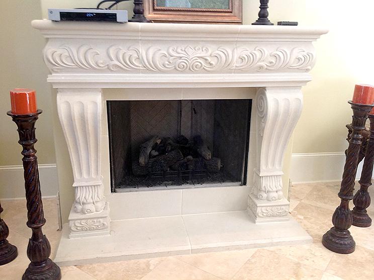 Cast Stone Fireplace-MardiGras-012