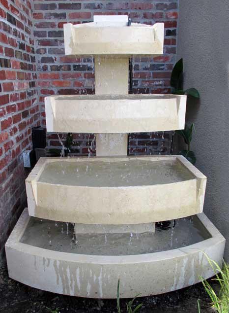 Cast Stone Fountain-Foster 07