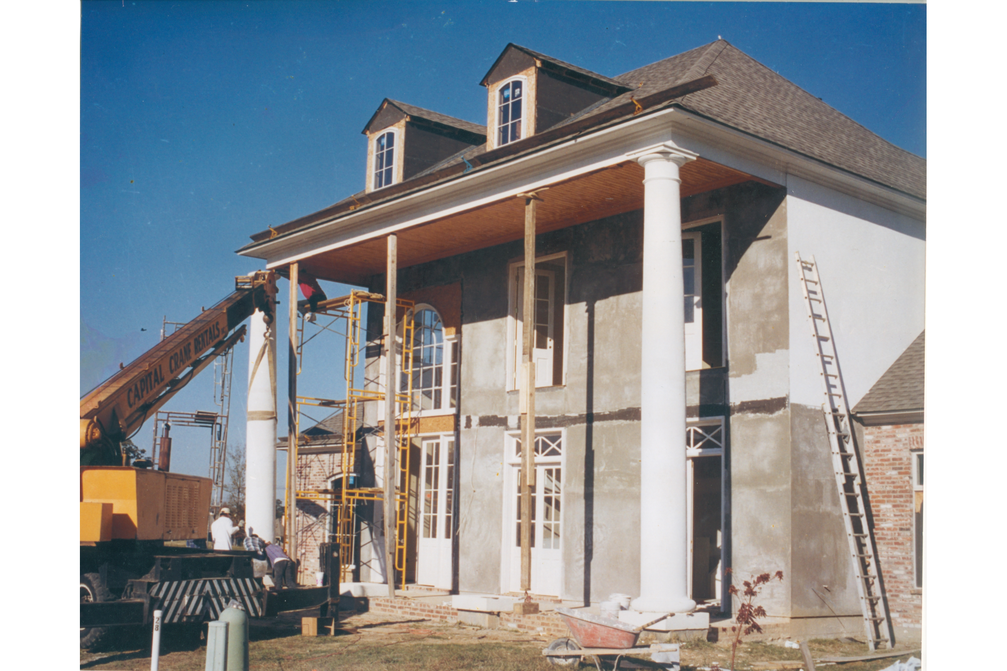 Installing One Piece Colonial Column C-019