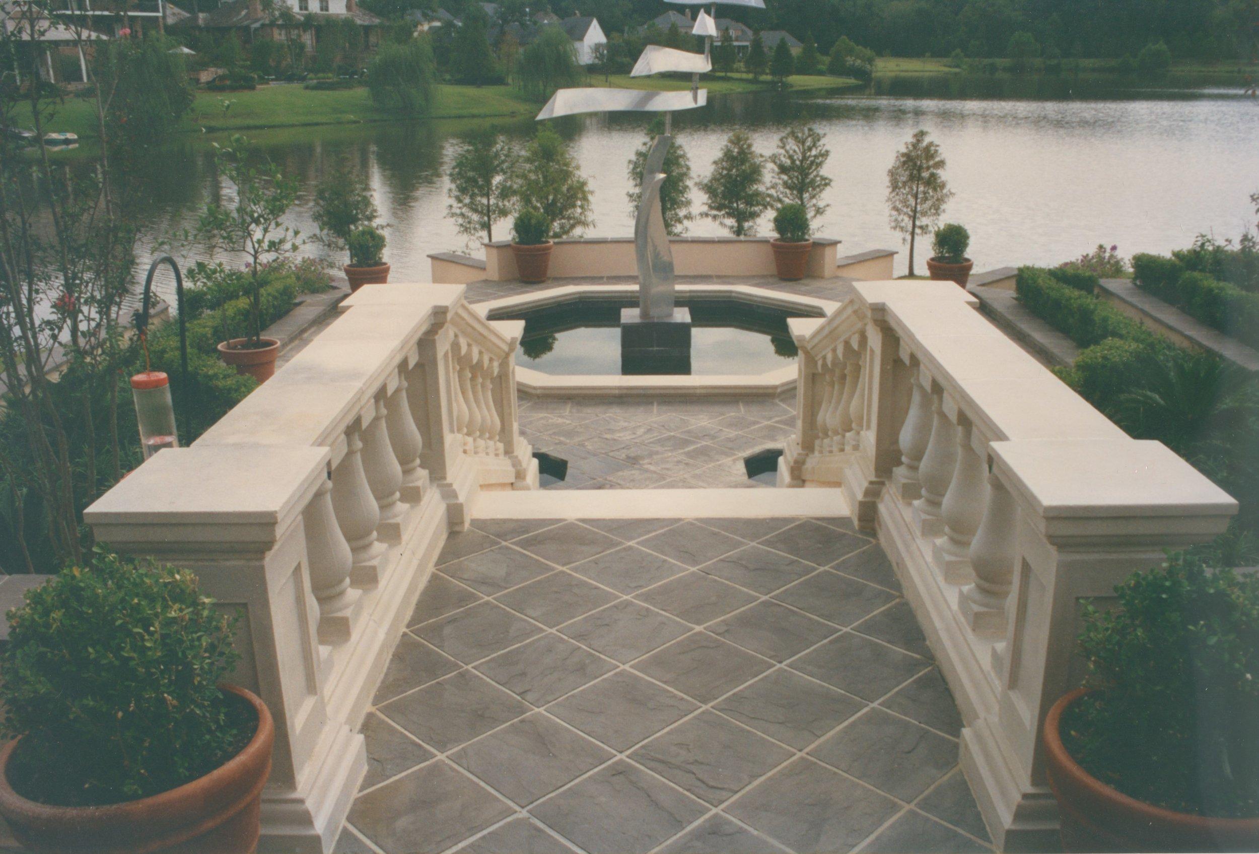 Cast Stone Balustrades-Lakeside B-012