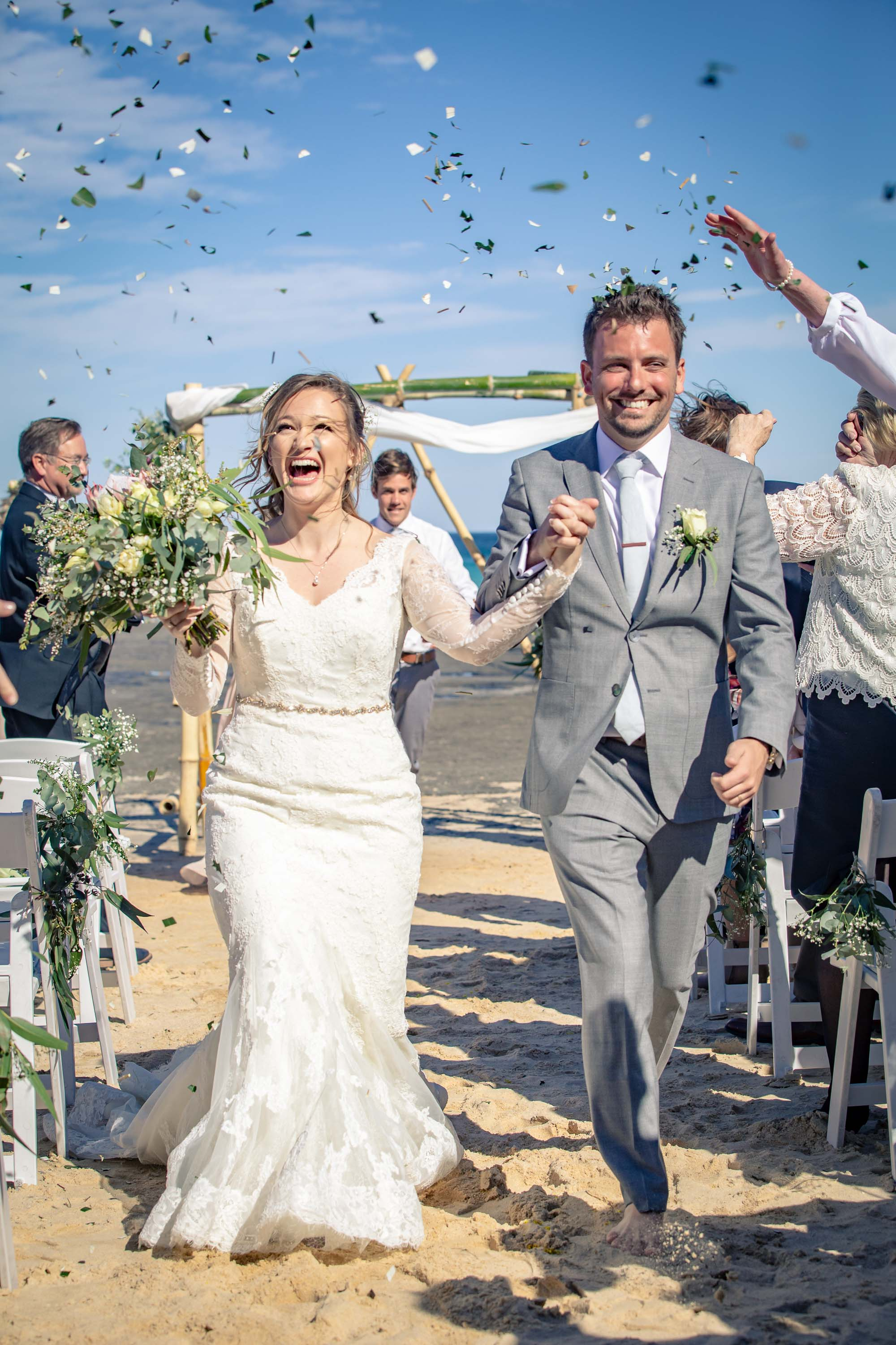 Ben and Leslie Reid Wedding August 2018