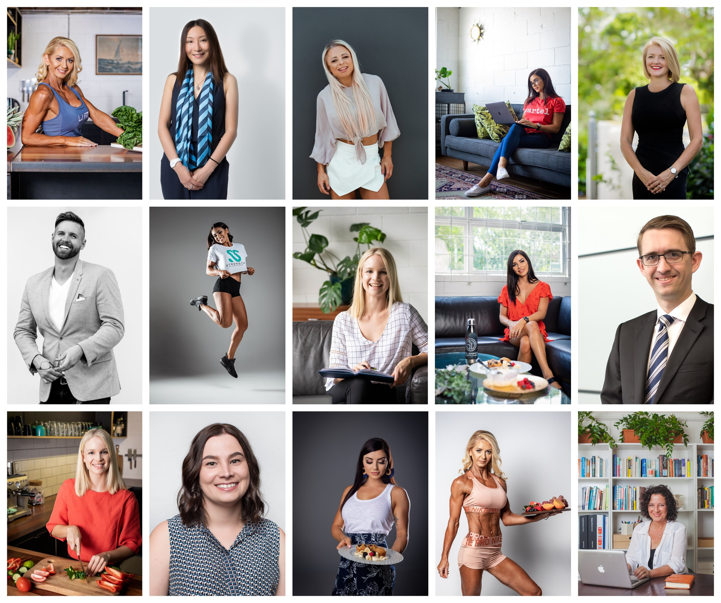 Brisbane Professional Commercial Portraits Day
