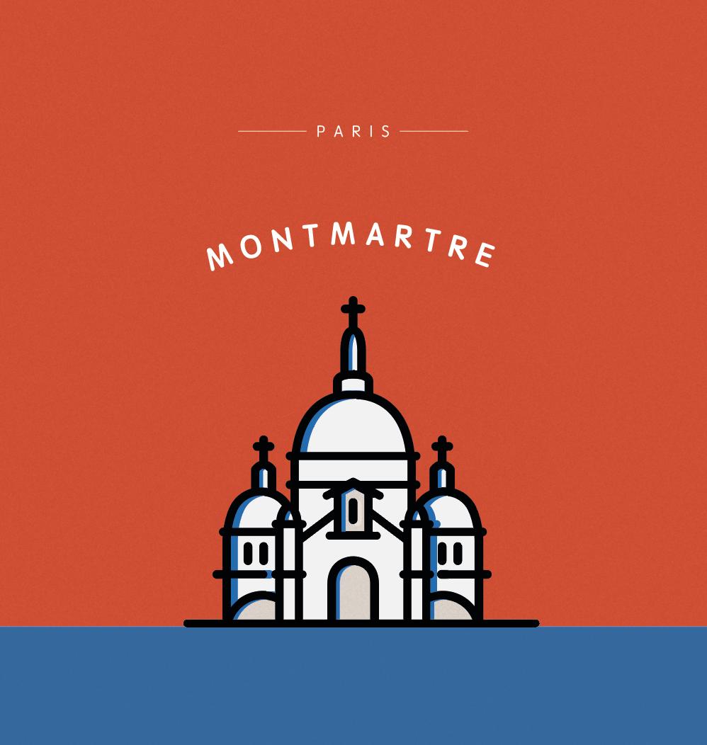 France_iconic illustration