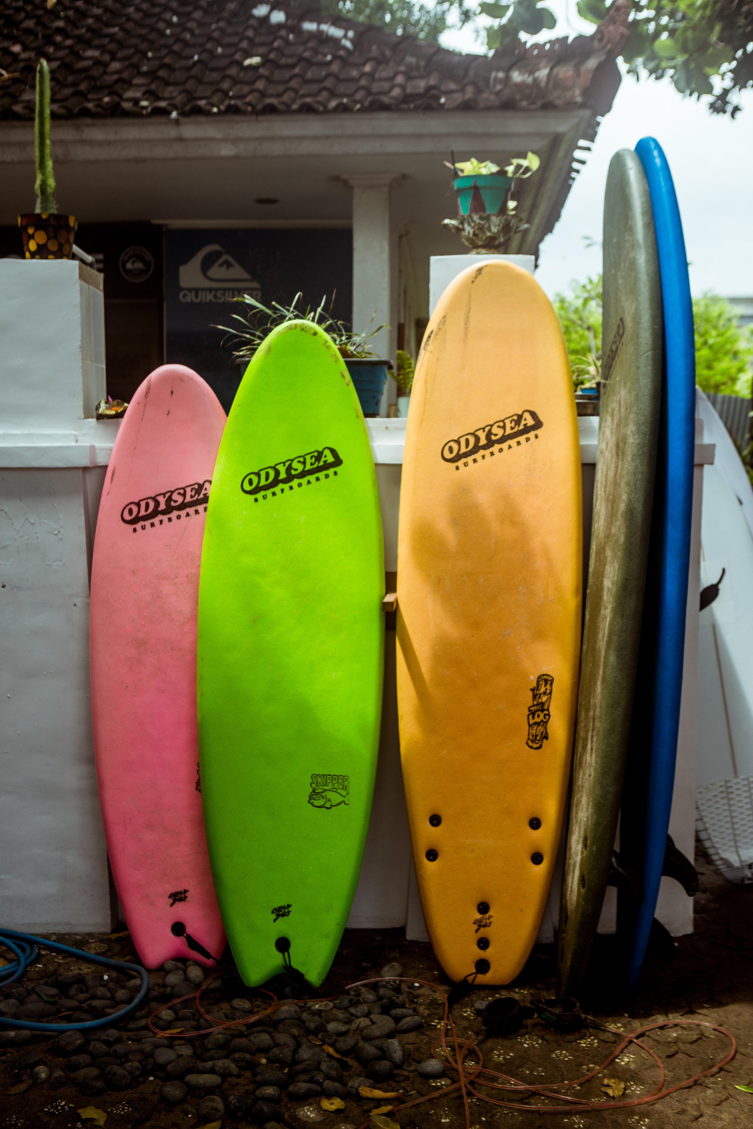 Surfboards Bali