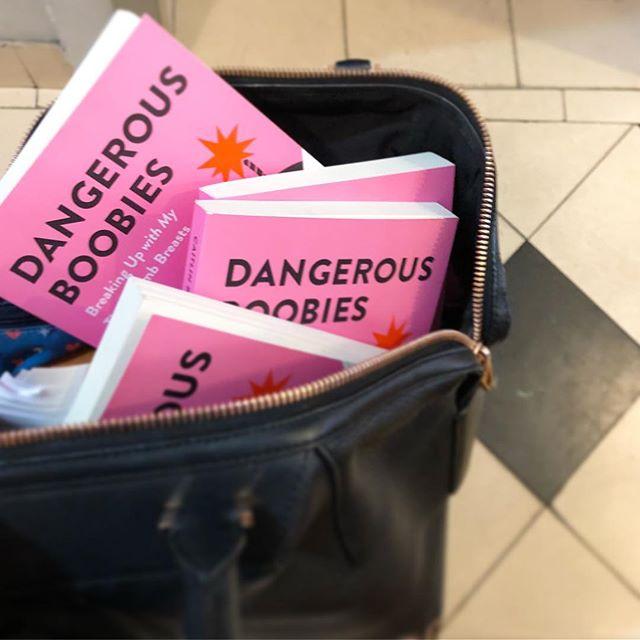 Let the gift giving begin!! 🌸🌸🌸 #dangerousboobies