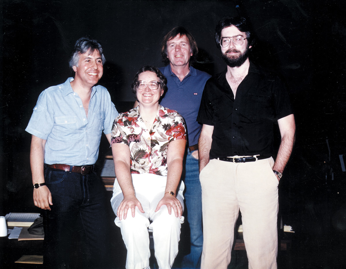 Don Perry, Shirley Walker, Bob Summers and Richard