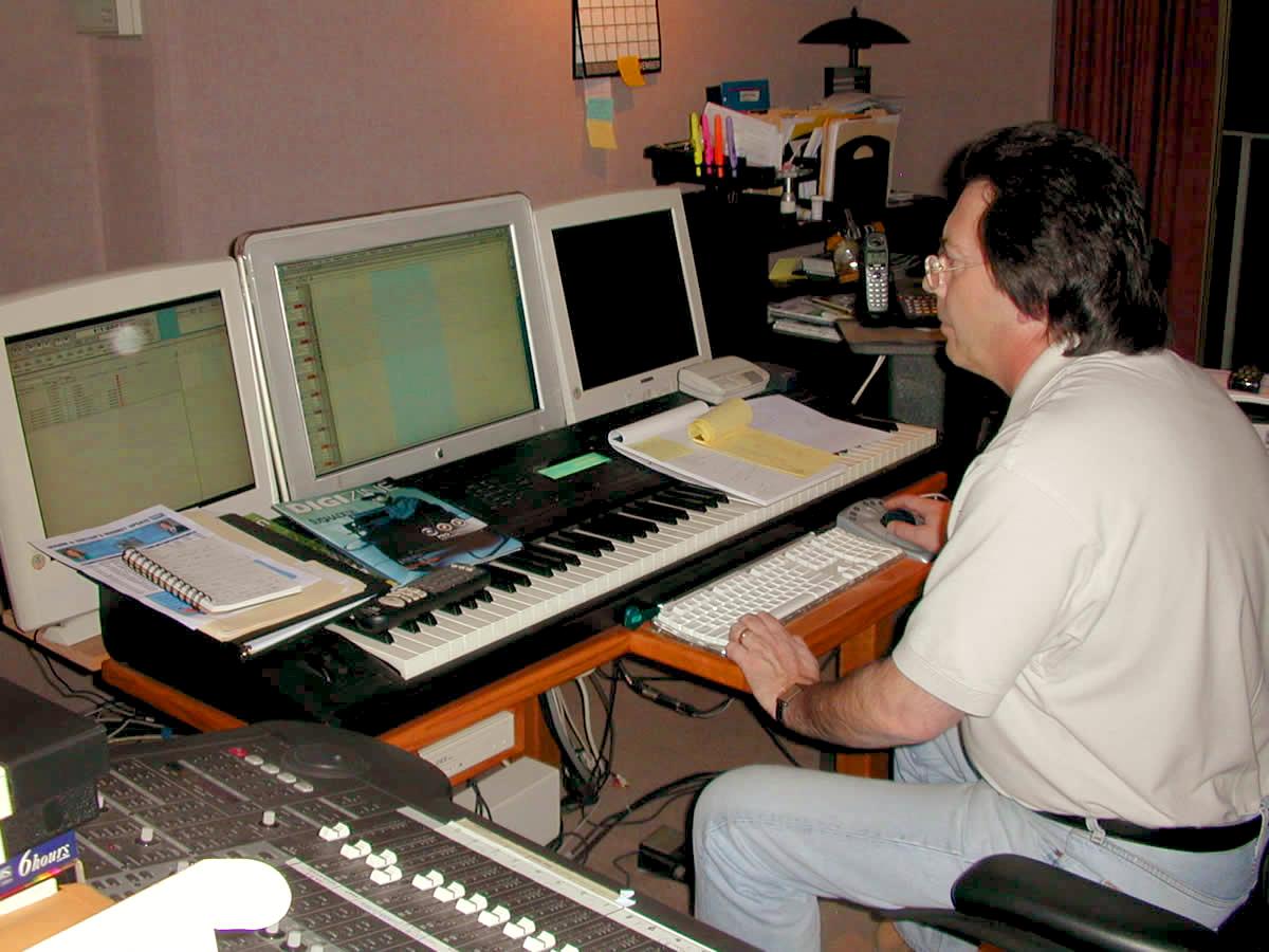 Richard in his studio #2