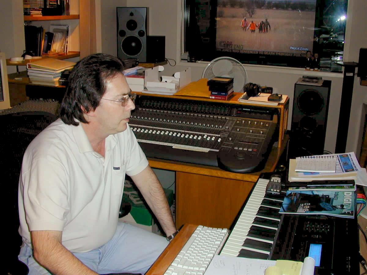 Richard in his studio #4