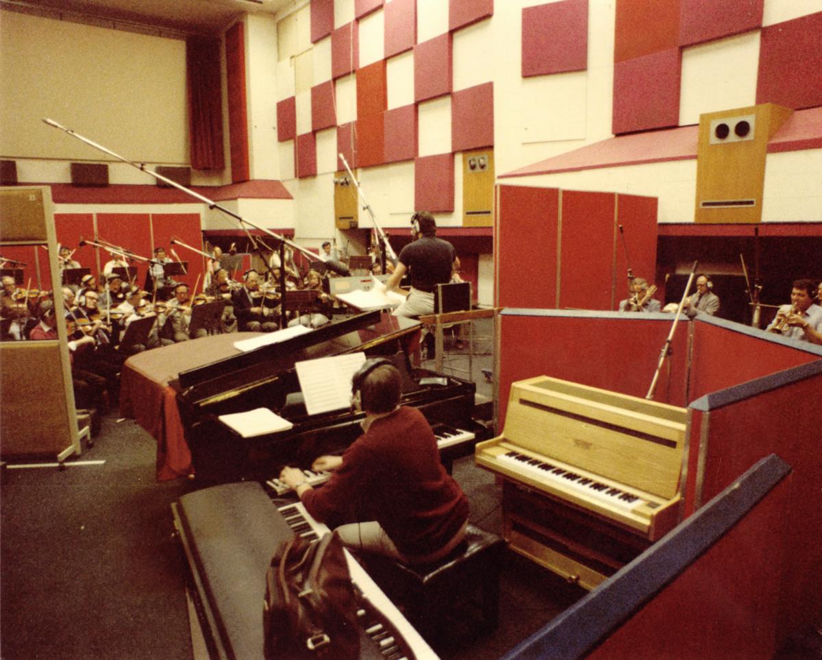 Richard Conducting at  CTS Studios #1