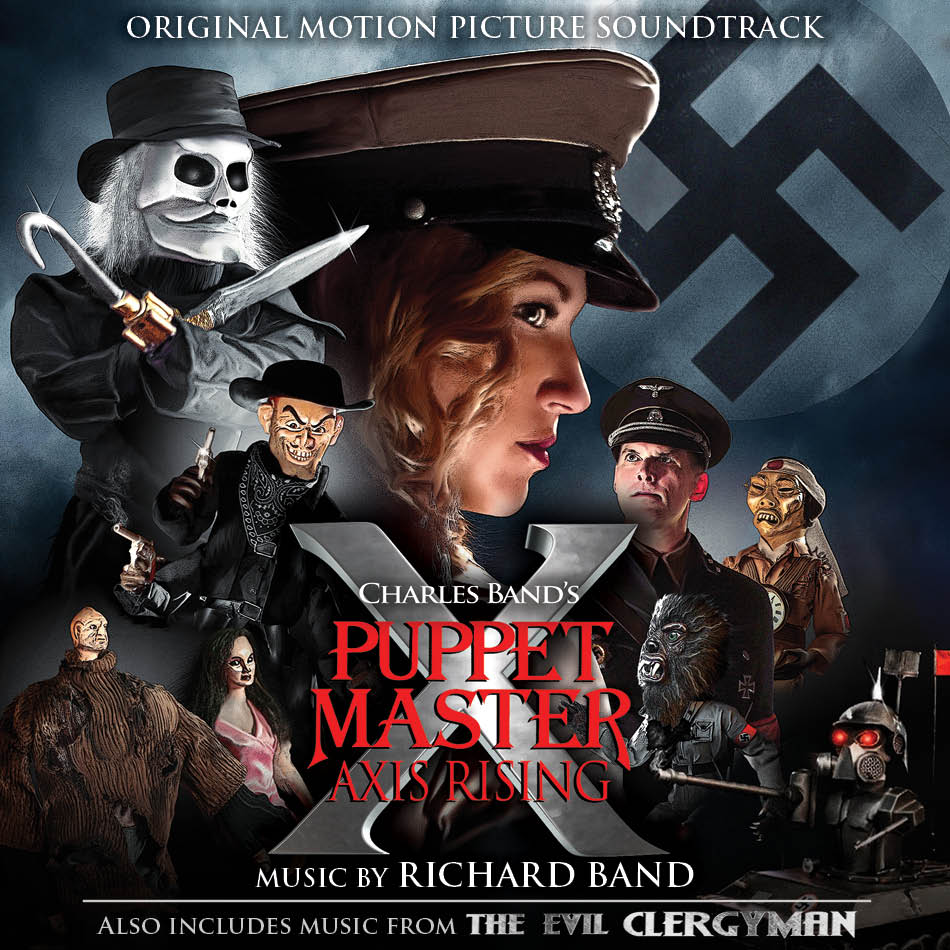 Puppet Master X: Axis RIsing/ The Evil Clergyman    LLLCD-1373  $21.95