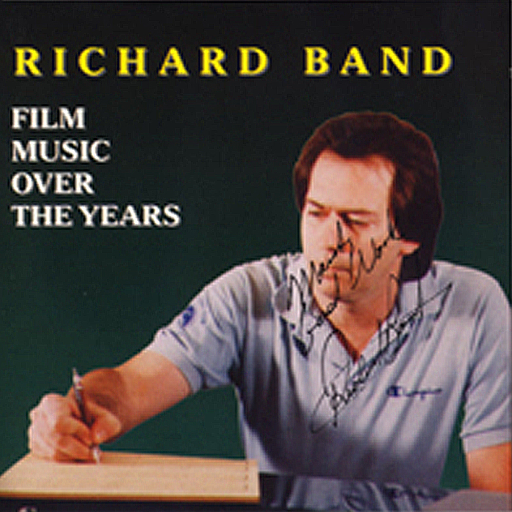 Richard Band: Film Music Over The Years   RBANDCD 001  $21.95