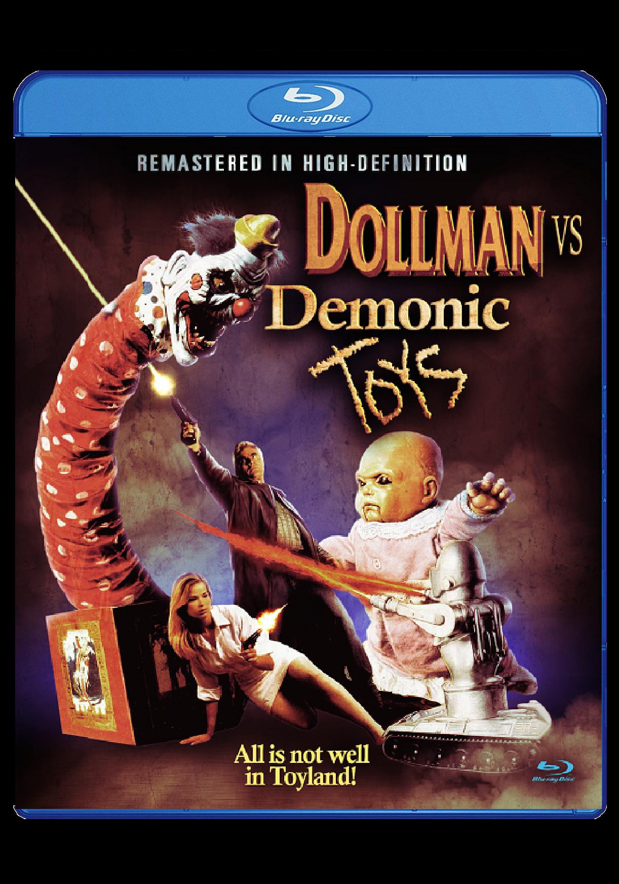 Dollman vs. Demonic Toys   Blu-Ray  $19.95