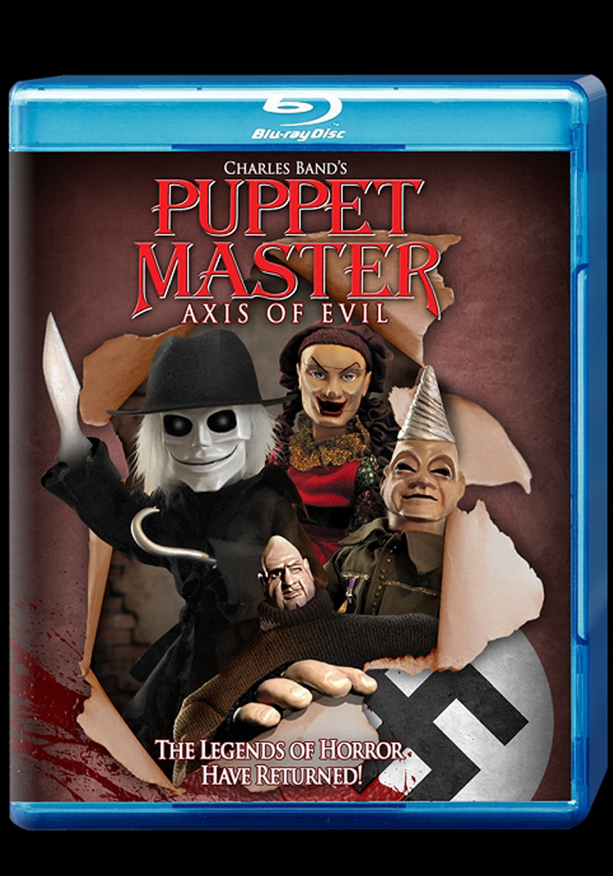 Puppet Master: Axis of Evil   Blu-Ray  $19.95