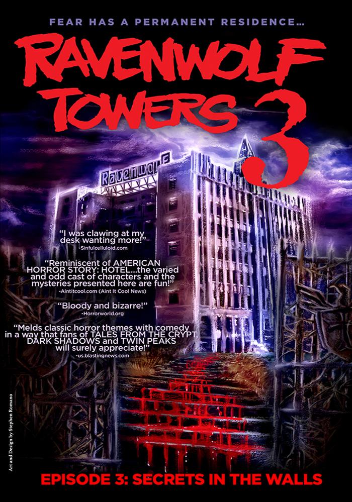 Ravenwolf Towers: Episode 3   DVD  $9.95