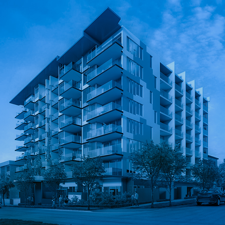 93 apartmentsGreenslopes Qld - Construction of an 8 storey residential apartment developmentGross Realisation Value $45m