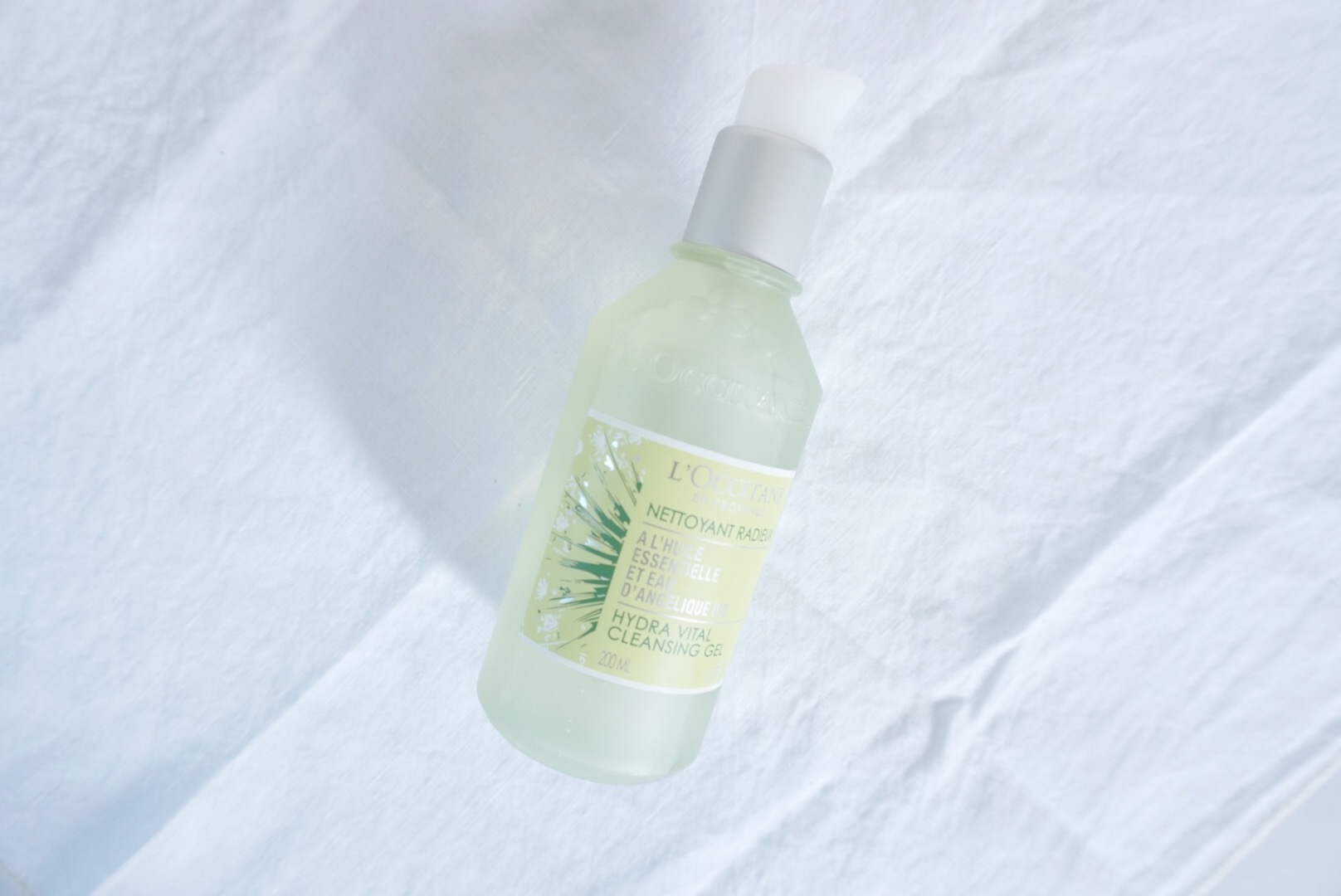L'Occitane Hydra Vital Angelica Cleansing Gel Review