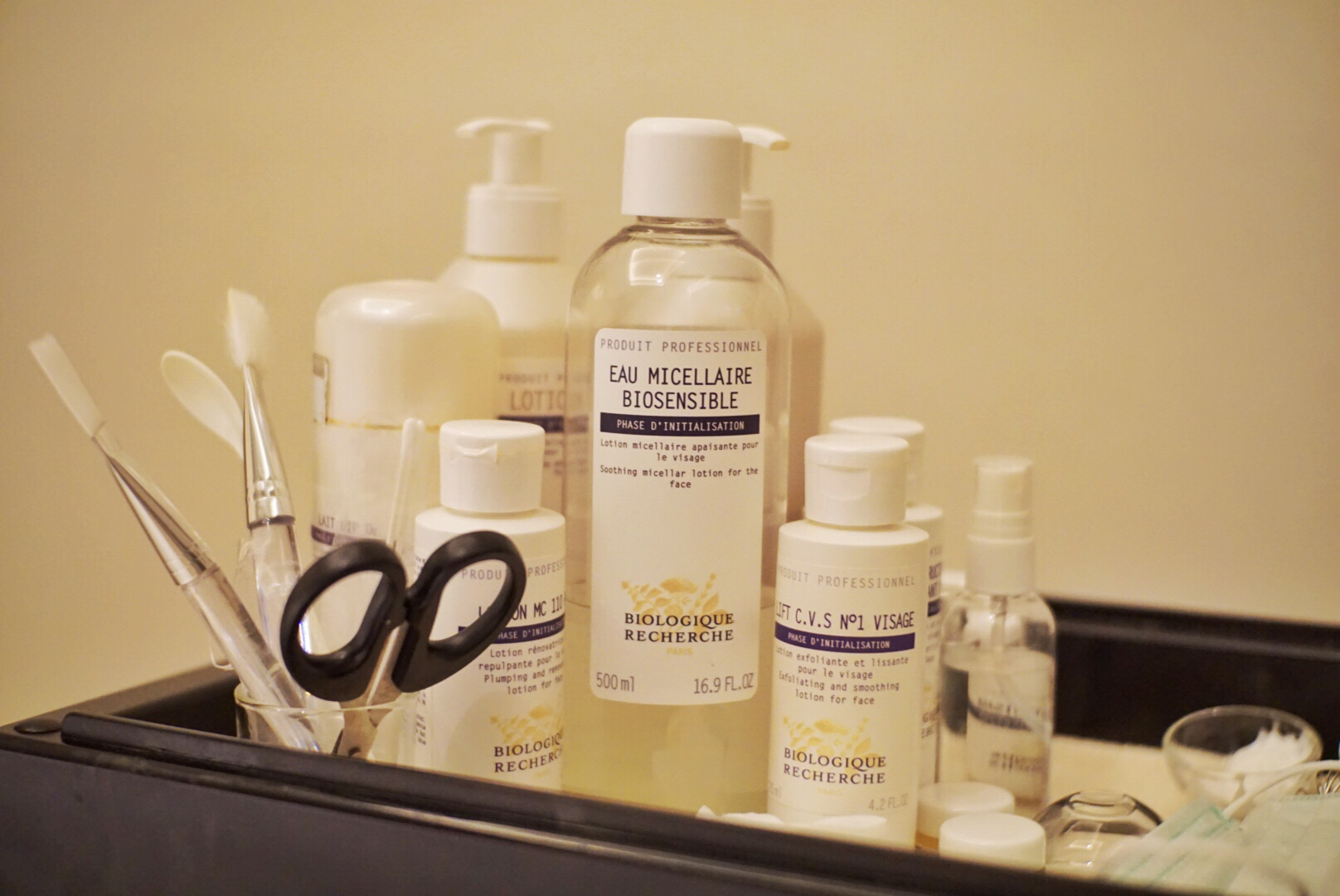 "BRs products for ""Be Flawless"" Treatment"