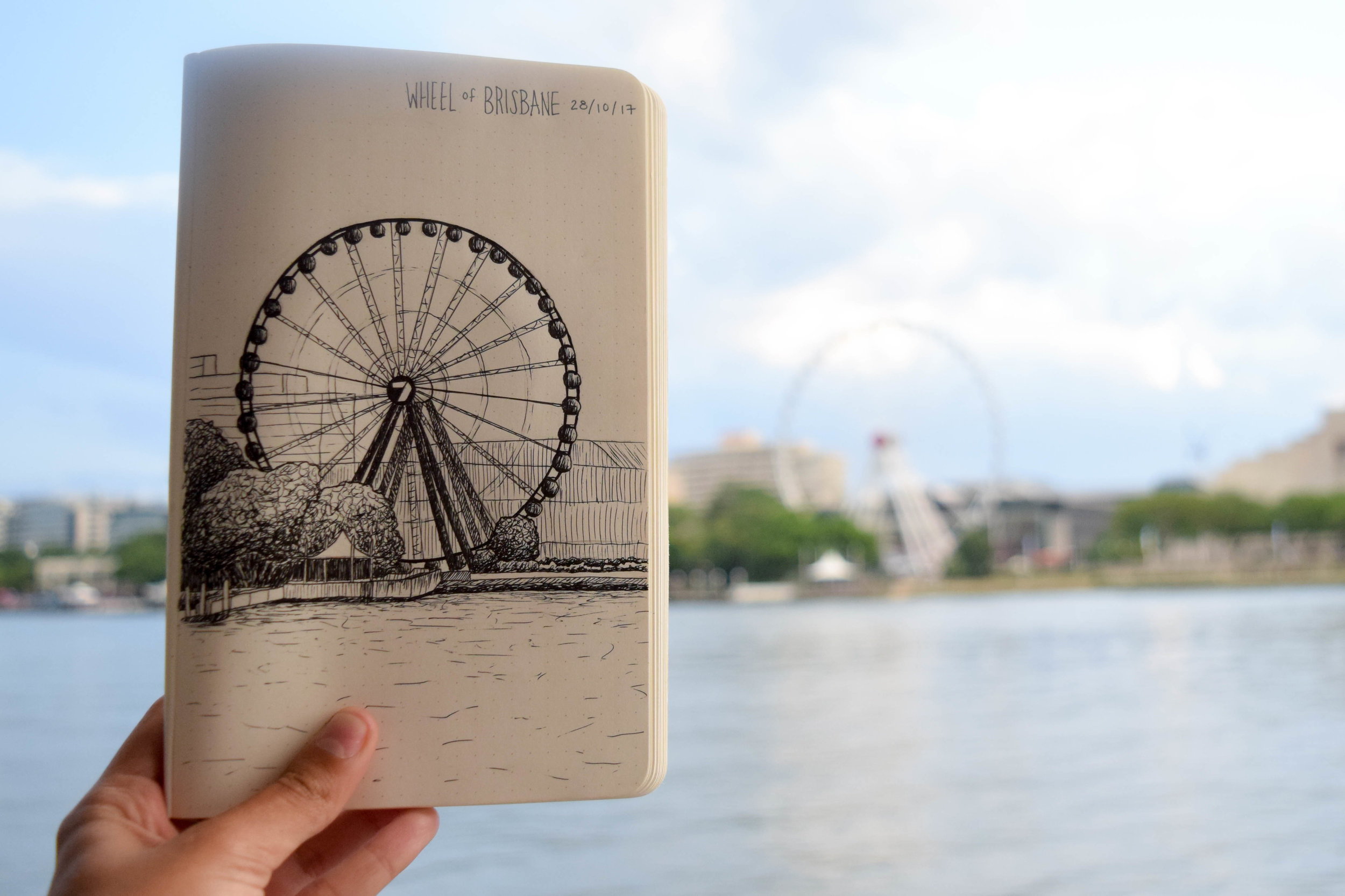 Wheel of Brisbane - Brisbane, QLD, Australia