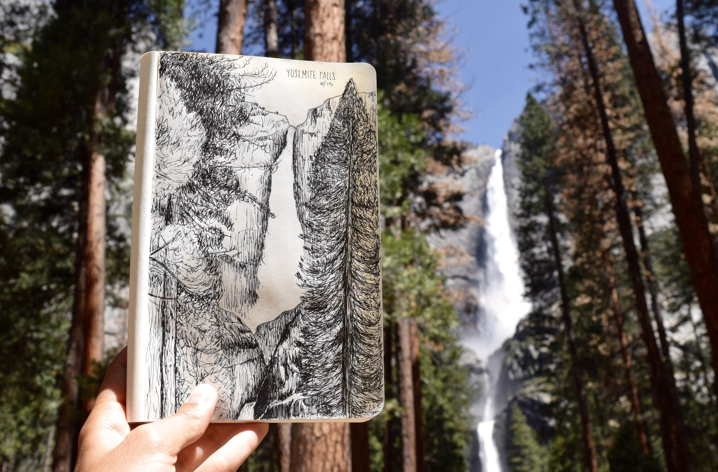 Yosemite Falls - Yosemite NP
