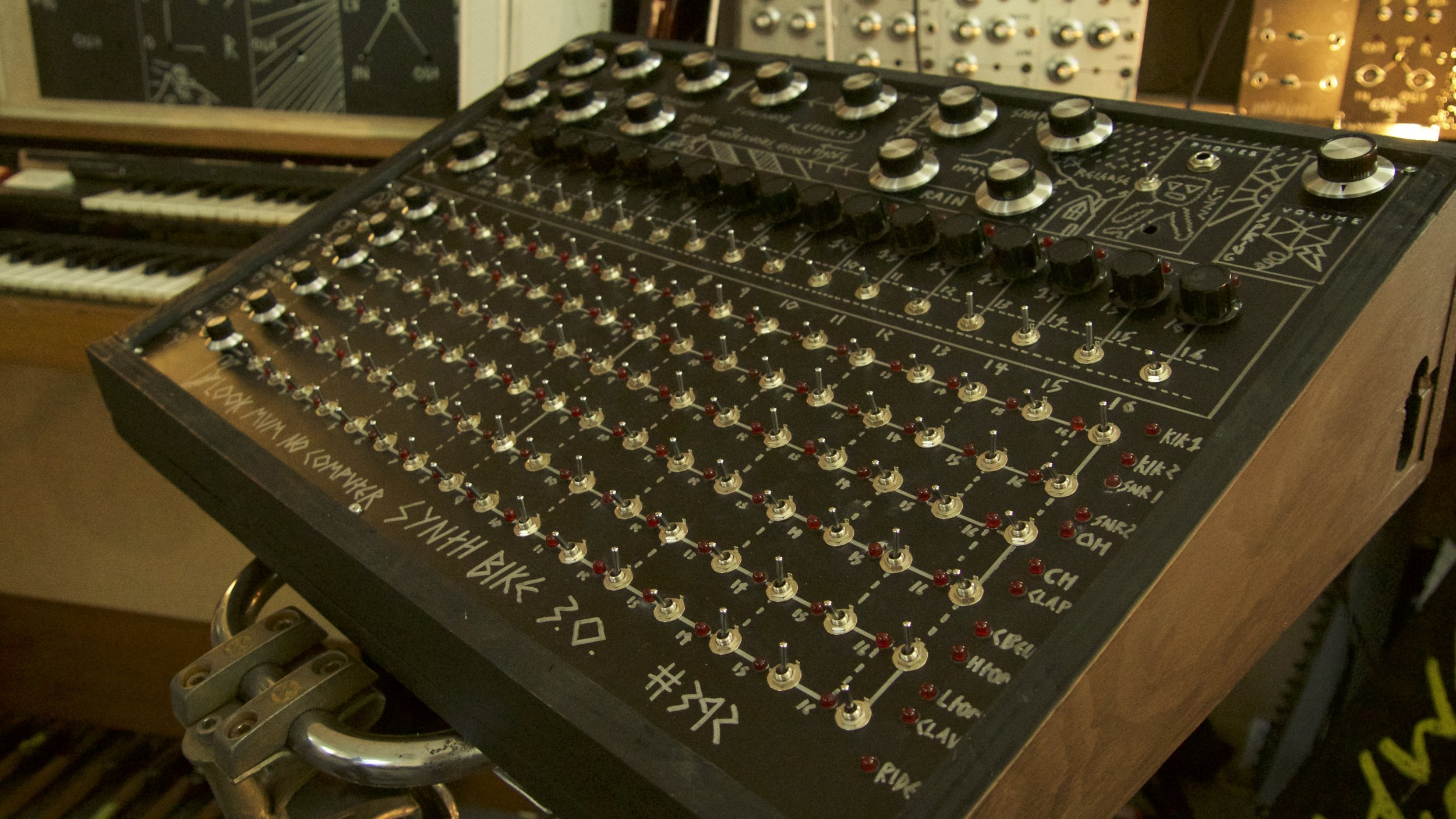 The controls. a little daunting, but its a lot more friendly than synth bike 2.0 i can tell you that!