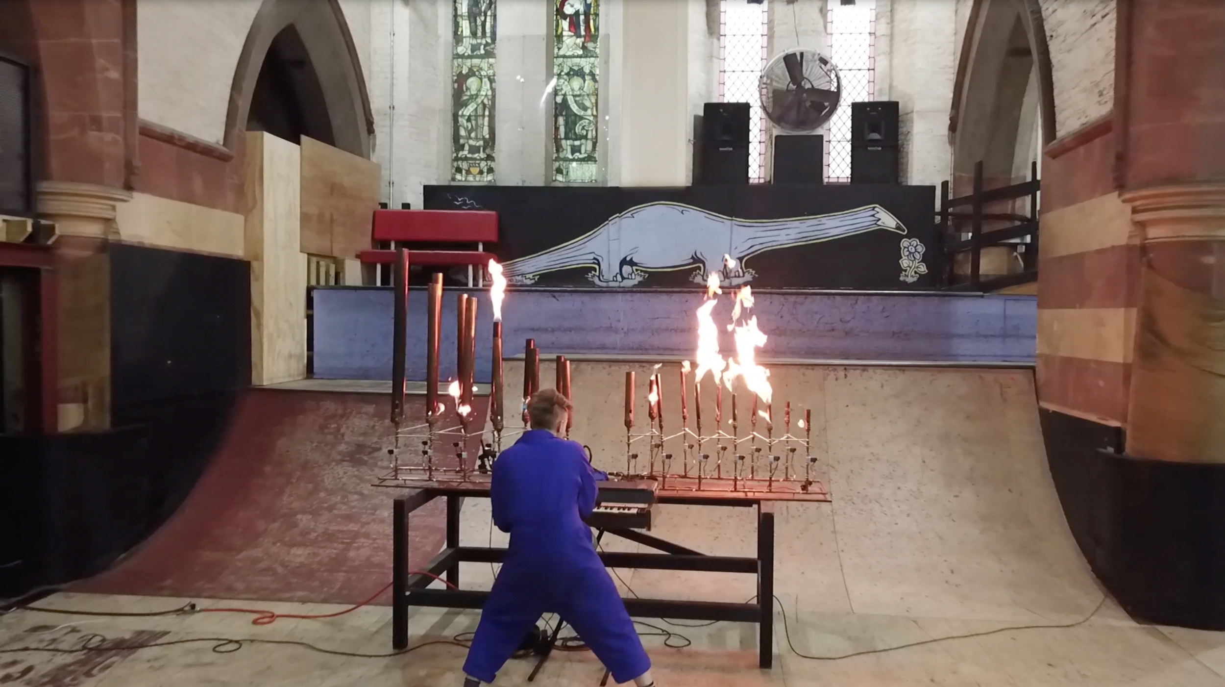 Flamethrower Organ